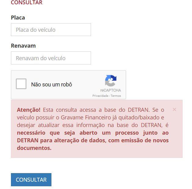 Consulta dpvat 2022 Alagoas